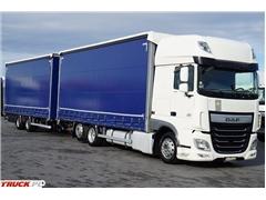 DAF 106 / 460 / SSC / EURO 6 / ZESTAW PRZEJAZDOWY 120