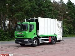 renault MIDLUM 270 DXI Śmieciarka Zabudowa SEMAT C233.06
