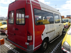 MERCEDES SPRINTER van, equipped with lift for PRM