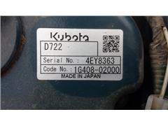 Minikoparka gąsienicowa KUBOTA K008-3