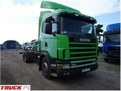Scania 124 470, RAMA POD ZABUDOWĘ