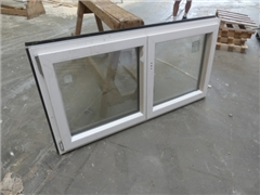 PVC window frame Pierret double opening