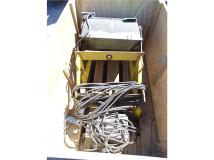 1 crane projector with power transformer
