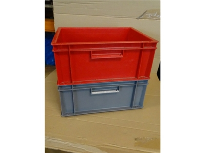 10 Bins ALLIBERT Plastic Storage stackable