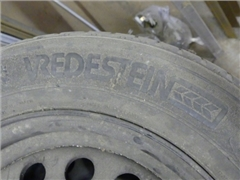 Tires on steel rims Vredestein