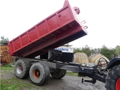 Double Axle Agricultural trailer