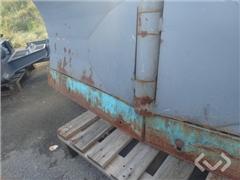 Fjaras Folding plow 245 with Merlo adapter bracket