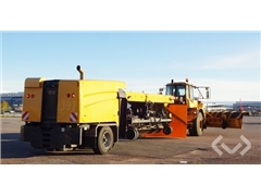 Volvo A25D with Aebi Schmidt Airport Jet Sweeper P