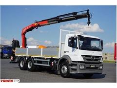 Mercedes AXOR / 2633 / E 5 / SKRZYNIOWY + HDS / MANUAL / RO