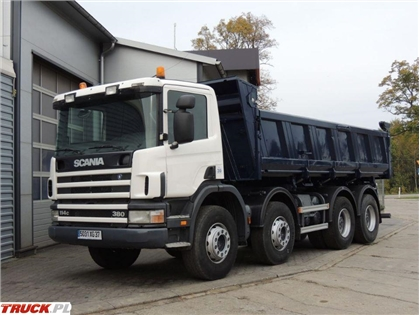 Scania 114C P380 Wywrotka Hydroburta , 2005rok , E