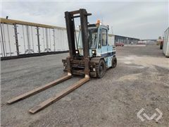 Counterbalance truck Stocka 6060 - 6tons Diesel -