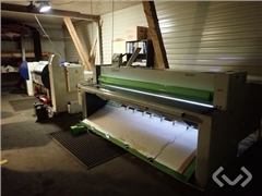 Göteneds KMS-25 Edge Folding Machine & Rapids
