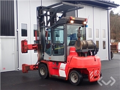 Counterbalance truck Kalmar DCE 55-6 HM with clamp