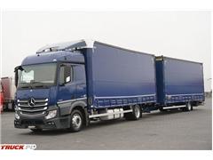 Mercedes / ACTROS / 1830 / ACC / EURO 6 / ZESTAW PRZEJAZDOW
