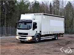 Volvo FL240 4x2 Flatbed curtainsider (tail lift)