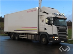 Scania G490LB HNB 6x24 Box (chillers + tail lift)