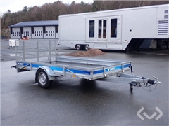 Trailer TIKI CP365-RB with ramp and manual tip 1-a