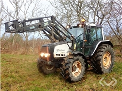 Tractor Valmet 6400 with front loader - 96
