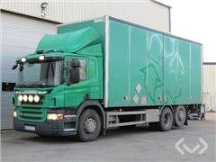 Scania P400LB (No export) 6x24 Box (side doors + tail li