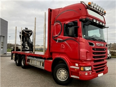 Sam. do drewna do krotkiego SCANIA R620 z EPSILON