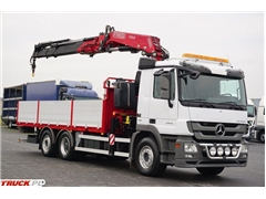 Mercedes / ACTROS 2532 / E 5 / SKRZYNIOWY + HDS / 6 X 2 / W