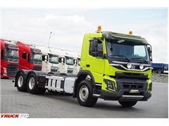 Volvo FMX / 420 / EURO 6 / 6 X 4 / RAMA DO ZABUDOWY / DŁ