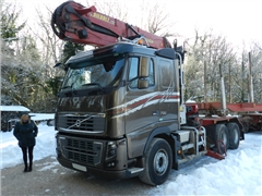 Do drewna do dluzycy -VOLVO FH 16-700 z EPSILON S3