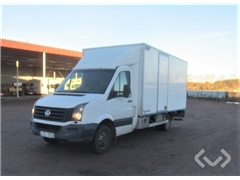 VW CRAFTER 50 CHASSIS EH 4x2 Box (tail lift)