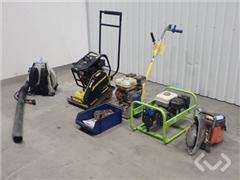 Husqvarna mm. Ground vibrator, concrete cutter, li