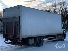 Scania P270DB MNA 4x2 Box (side doors + tail lift)