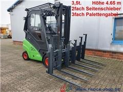 Wózek widłowy LINDE H35D 2fach Seitenschieber 3fac