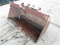 Łyżka do ładowacza czołowego Side dump bucket