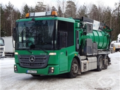 Spool / Suction truck MB MERCEDES BENZ (gas-powere