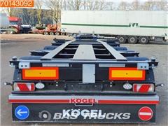 Nowa naczepa do przewozu kontenerów KÖGEL Port 45