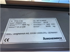 Wózek widłowy JUNGHEINRICH TFG316s