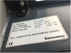 Wózek widłowy JUNGHEINRICH TFG425s