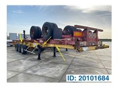 Ciężarówka do przewozu kontenerów Skelet 2 x 20-30