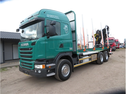 Scania G 480, 6X4