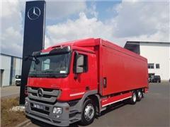 Mercedes Actros Ciężarówka furgon MERCEDES-BENZ Actros 2541 L Getränkepritsche LBW RFK Schiebepl
