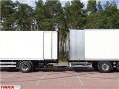 DAF CF 85.410 ZESTAW Przejazdowy 37 euro palet