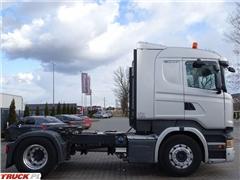 Scania R 450 / RETARDER / HYDRAULIKA / NISKA KABINA CR 19