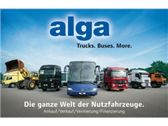 Nowa ciężarówka hakowiec ANDERE alga, Abrollbehält