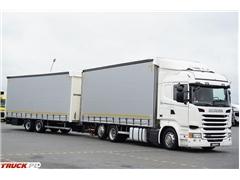 Scania / R 450 / ACC / EURO 6 / ZESTAW PRZESTRZENNY 120 M