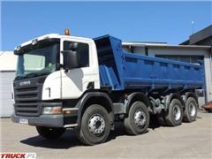 Scania 114C P380 Wywrotka Hydroburta, 2005rok, Euro3, 8x4