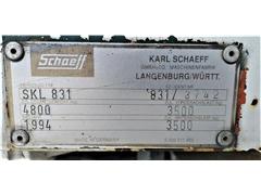 Ładowarka kołowa SCHAEFF SKL 831