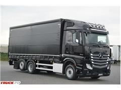 Mercedes / ACTROS / 2542 / ACC / E 6 / FIRANKA + WINDA / OŚ